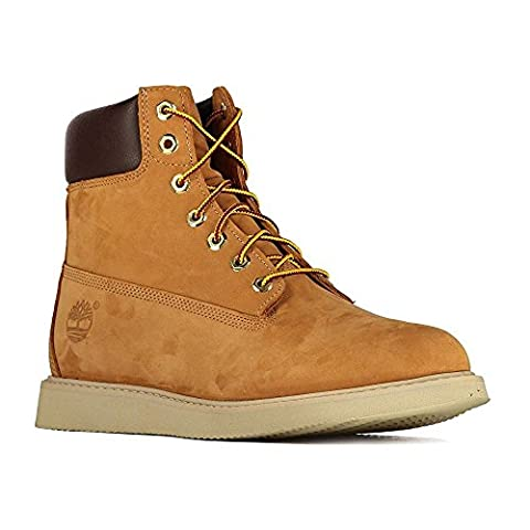 Boots Timberland Newmarket 6 Inch Wedge Boot Wp Jaune Homme 44