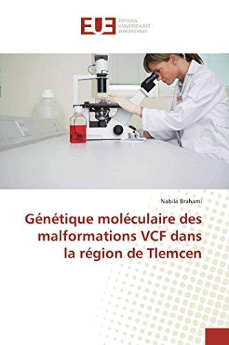 Génétique moléculaire des malformations VCF dans la région de Tlemcen par Nabila Brahami