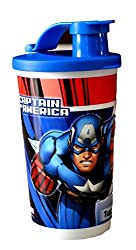 Tupperware Captain America And Iron Man Tumbler - (330ml) Set Of 2