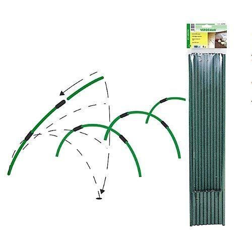 Verdemax 2545 180 cm Tunnel cerceaux Bouquet (Lot de 4)