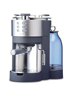 Kenwood ES630 Cafetière espresso aluminium brossé/gris