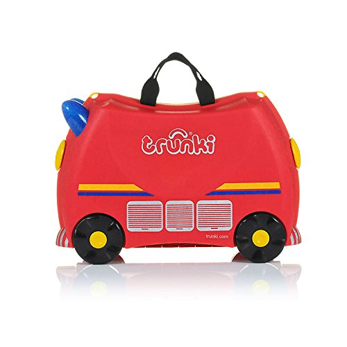Trunki Koffer für Kinder Freddie Fire Engine - 5