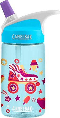 CAMELBAK Kinder Eddy Kids 0.4L Trinkflasche Wasserflaschen, Roller Skates, 400ml