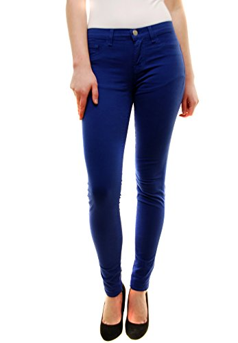 J Brand Damen Indio Blau Mitte Steigen Dünn Bein Jeans 26 811K120 (Denim Taschen Steigen)