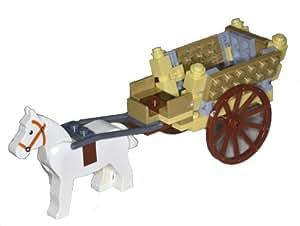 1 lego kutsche mit pferd wie bild lego ersatzteile shop. Black Bedroom Furniture Sets. Home Design Ideas