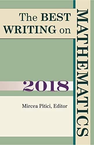 The Best Writing on Mathematics 2018 (English Edition)