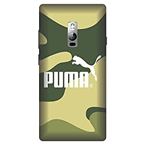 One Plus 2 Puma Logo Printed Hard Polycarbonate Designer Back Case Cover by Mobi Elite