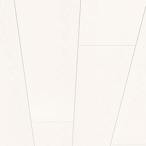Avanti Wandpaneel und Deckenpaneel Hochglanzweiß mit fein geprägter Maserung 2200 x 203 x 10 mm