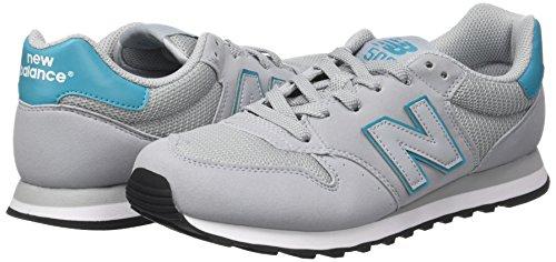 Grigio 40 New Balance Gw500 Sneaker Donna Grey/Turquoise EU Scarpe 0au
