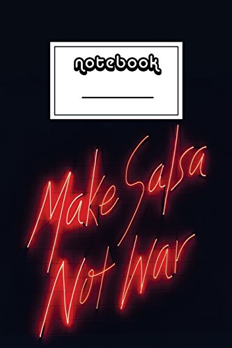 Not War Notebook | Beautiful 100-Page College-Ruled Work Book to Write in | Stylish 6 X 9 Lined Journal (Funny Notebooks) ()