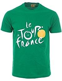 Tour de France Tdf-SA-3000 V L/B T-Shirt Adulte Homme, Vert, FR : L (Taille Fabricant : L)