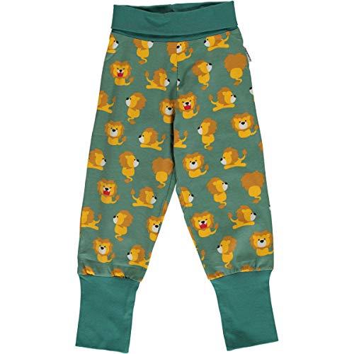 Maxomorra Baby Hose Rib Pants Lion 62/68