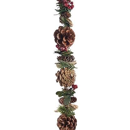 Dekorative-Zapfengirlande-mit-Glitter-von-Kaemingk-Mae-6×150-cm-braun