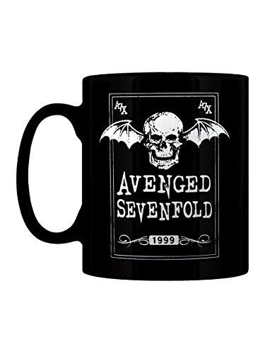Avenged Sevenfold Tazza Death Bat 1999 in nero