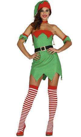 Weibliche Elf Elf Kostüm Größe ()