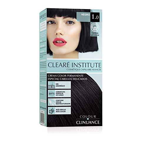 Colour Clinuance | Tinte Capilar Cabellos Delicados | 1.0 Negro