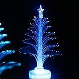 Detectoy Weihnachtsbaum LED Licht, Weihnachtsbaum Licht Farbwechsel LED Licht Lampe Zimmer Dekoration Ornament Kleine Nachtlicht für Home Party Festival