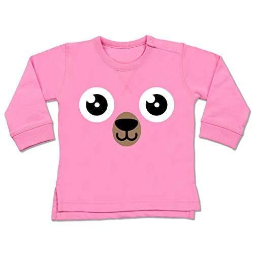 Kostüm Baby Braunbär - Shirtracer Karneval und Fasching Baby - Bär Karneval Kostüm - 12-18 Monate - Pink - BZ31 - Baby Pullover