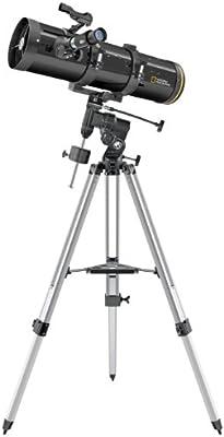 National Geographic Newton - Telescopio reflector (diámetro 130 mm, distancia focal 650 mm)