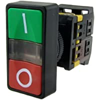 AC 220 V giallo luce on-off Start Stop
