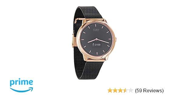 Sportuhr Damen Rosegold : Cleo xw connect hybrid smartwatch für damen amazon elektronik