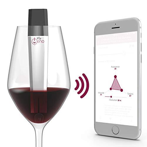 MyOeno Le Sommelier connecté Qui Analyse Le vin Que Vous dégustez ! L'accessoire Indispensable pour Tous Les Amateurs de vins