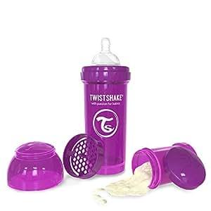 Twistshake Powder Box (2 x 100 ml, Pink)