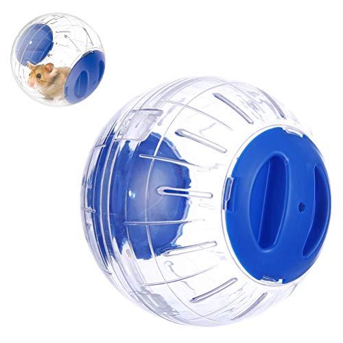 SANTITY Hamsterball Hamster Laufball gesundes und sicheres Mini-Run-Übungsball für Kleintiere Laufkugel Nagerspielzeug zum Laufen Kunststoff 14cm