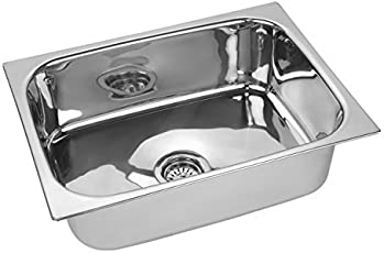 Truphe Pure Stainless Steel Sink for Kitchen 24 X 18 X 9 inch, Kitchen Sinks Stainless Steel