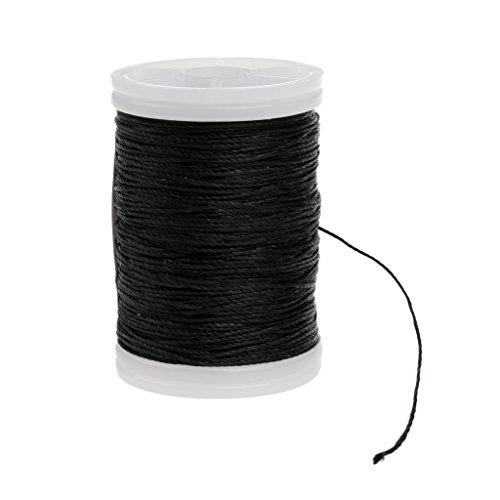 magideal-bogenschnur-bogenschiessen-zubehor-bogensehne-sehnengarn-fiber-bow-string-120m-schwarz
