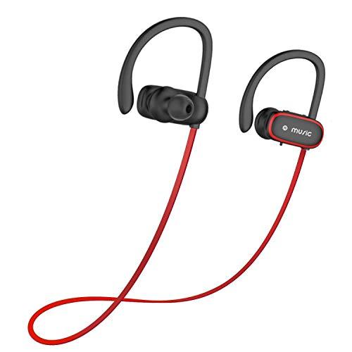 Benefast Bluetooth 4.2 HD Stereo Sport Joggen kabellos Kopfhörer, IPX5 Headset mit Mikrofon,CVC 6.0 Noise Cancelling In Ear Ohrhörer für iPhone Samsung iPad Huawei HTC Mehr
