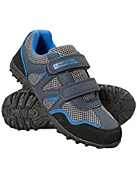 Mountain Warehouse Chaussures Enfants Baskets basses Confortable semalle EVA Fermeture Scratch Mars