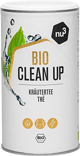 nu3 Bio Clean Up Tee – harmonischer Kräutertee (100 g) lose – mit würzig süßer Note – für ein neues, leichtes…