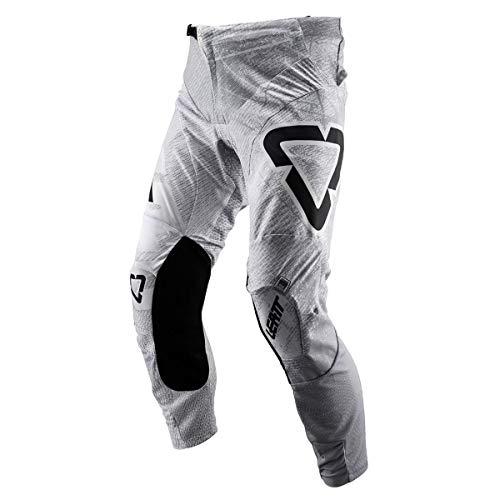 Leatt GPX 4.5, Pantaloni Moto Unisex - Adulto, Tech White, M