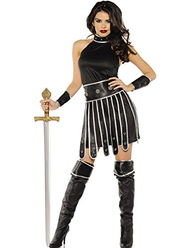 Underwraps Warrior Queen Womens Medieval Spartan Halloween Costume-XL X (Spartan Kostüme Halloween)