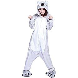 Mytom Kigurumi Pijamas Unisexo Adulto Traje Cosplay Homewear Halloween Animal Pyjama ( Koala EU M )