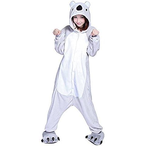 Minetom Kigurumi Pigiama Unisex Adulto Cosplay Halloween Costume Animale Pigiama