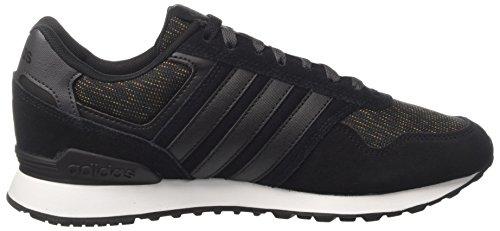 adidas 0k, Scarpe da Ginnastica Basse Uomo Nero (Core Black/core Black/footwear White)