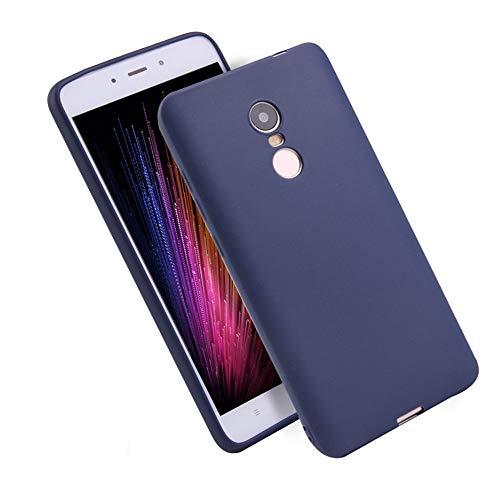 Mishuai Bereifte Süßigkeit-Farben-Handy-Fall-Mode-rückseitige Abdeckung Telefon-Kasten für Xiaomi Redmi Anmerkung 3 (Color : Dark Blue) - Handy-kästen Anmerkung Für 3