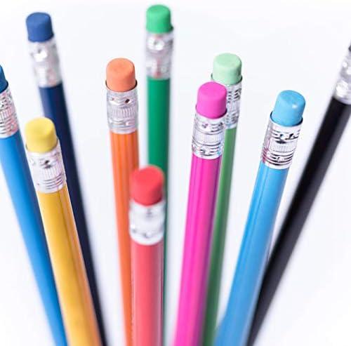 50 matite stampate stampate stampate con gomma da cancellare | Terrific Value  | Conosciuto per la sua eccellente qualità  | In Linea  718074