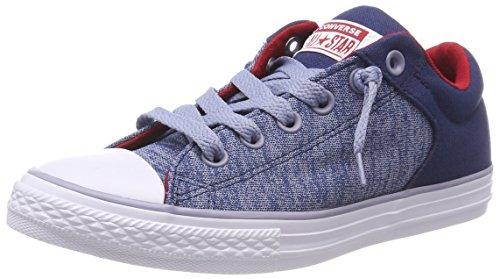 Converse Unisex-Kinder CTAS High Street Slip Navy/Glacier Grey Sneaker, Blau (Navy/Glacier Grey/White 426), 27 EU (Canvas-slip-sneakers)