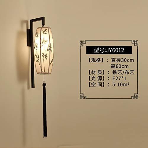 Home-source-bambus (Schlafzimmer Scheinwerfer New Chinese Wandleuchte Studie Wohnzimmer Wandleuchte Home Wandleuchte Schlafzimmer Scheinwerfer im chinesischen Stil, grüner Bambus, High-End-LED-Lichtquelle)
