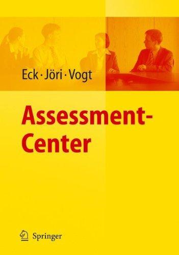 Assessment-Center (Arbeits- Und Organisationspsychologische Techniken)