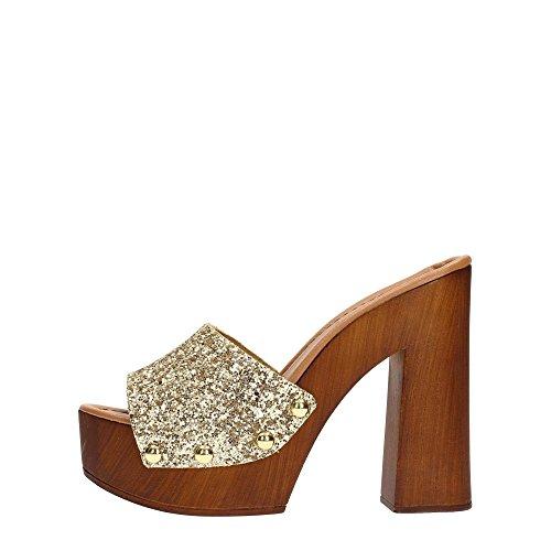 Tosca Blu SS1628S554 Sandalo Donna Pelle Oro Oro 39