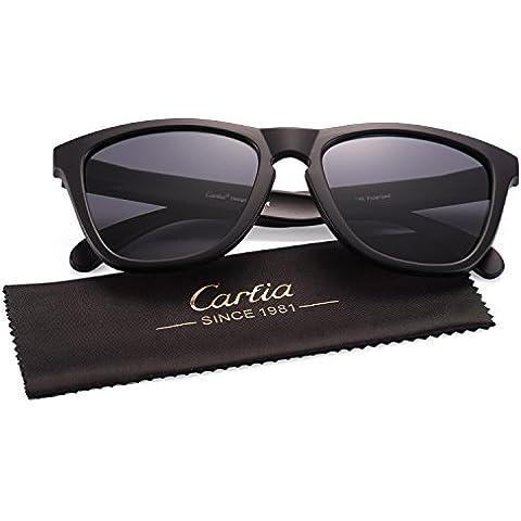 Gafas de Sol, Carfia Gafas de Sol Unisex Polarizadas con 100% Prtección UV400 para Viaje y Depoete al Aire