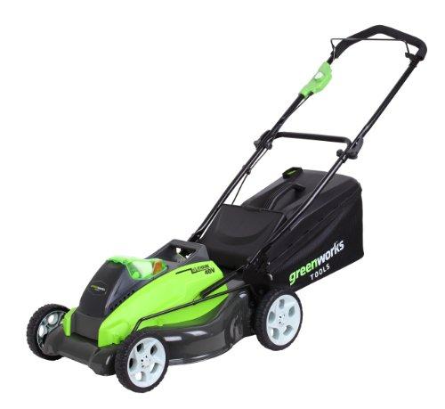 greenworks tools 2500107 45cm tondeuse sans fil 40v lithium ion sans batterie ni chargeur. Black Bedroom Furniture Sets. Home Design Ideas