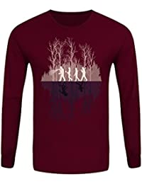 T-Shirt à manches longues Where There's A Will Homme Bordeaux
