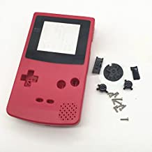 Zhhlinyuan Multicolor Full Housing Shell Case Cover Pack Replacement Repair Parts pour Gameboy Color GBC