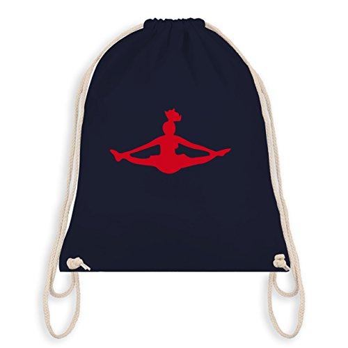Shirtracer Tanzsport - Cheerleading - Unisize - Navy Blau - WM110 - Turnbeutel & Gym Bag