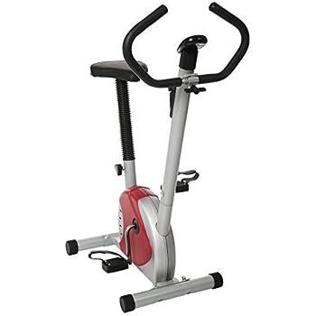 Tomasa Moda Alta Calidad Casa Bicicleta Estática Fitness Bicicleta de Spinning Plegable con Pantalla LCD